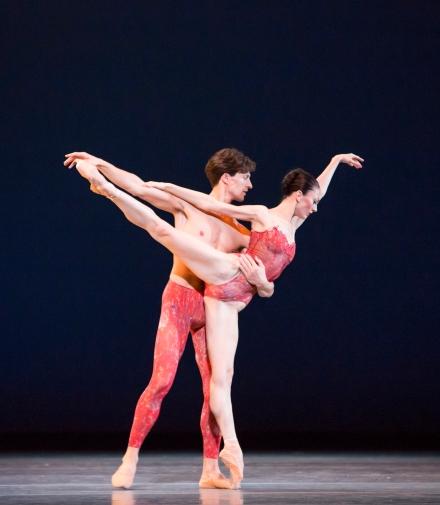 Joffrey Ballet in 'Bells' (7); photo by Cheryl Mann